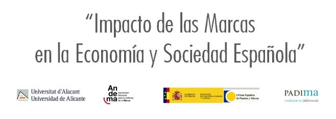"""PRESENTACIÓN INFORME """"IMPACTO DE LAS MARCAS EN LA ECONOMÍA Y SOCIEDAD ESPAÑOLAS"""" EN UNIVERSIDAD DE ALICANTE"""