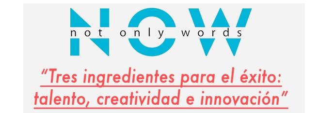 """PADIMA nuevo colaborador con Encuentros NOW """"Not only words"""""""