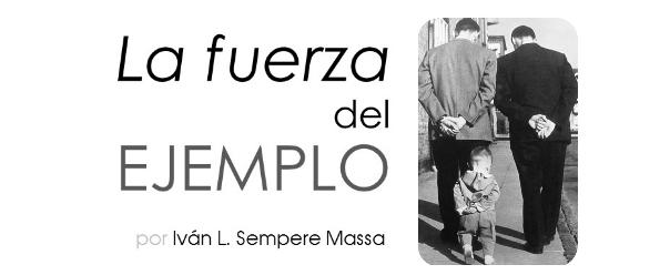 «La fuerza del ejemplo» con Iván Sempere en Centro Imaginalia