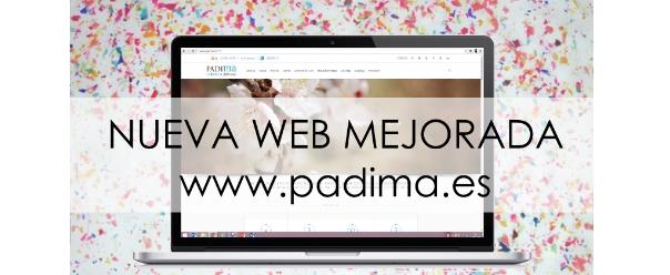 Nueva web PADIMA mejorada!