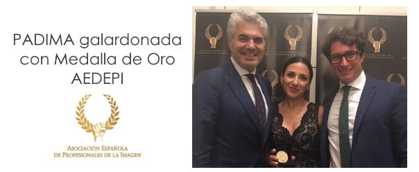 Portada PADIMA Premio Medalla AEDEPI 2