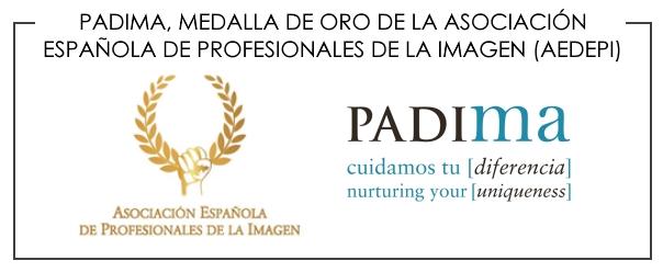 PADIMA, RECONOCIDA CON LA MEDALLA DE ORO DE LA ASOCIACIÓN ESPAÑOLA DE PROFESIONALES DE LA IMAGEN (AEDEPI)