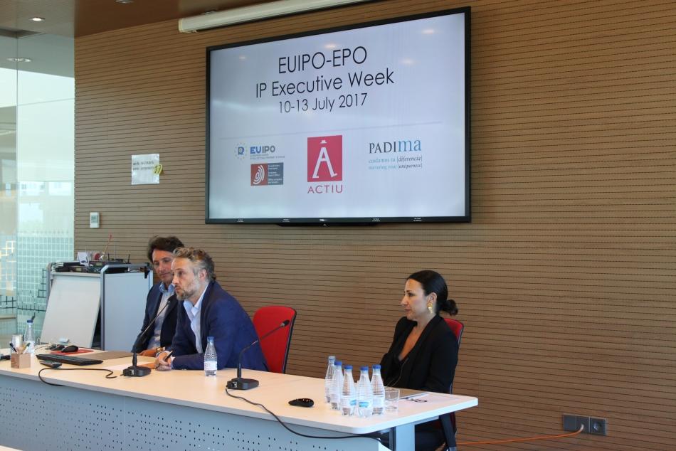 IP EXECUTIVE WEEK - ACTIU Y PADIMA - EUIPO Y EPO