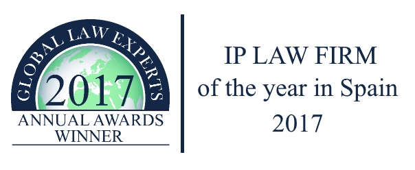 "PADIMA recognized as ""IP Law Firm of the Year in Spain – 2017"" by Global Law Experts."