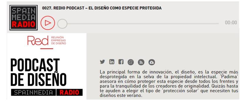 """""""El diseño protegido"""", entrevista de Juan Mellen a Iván Sempere en Redio Podcast."""