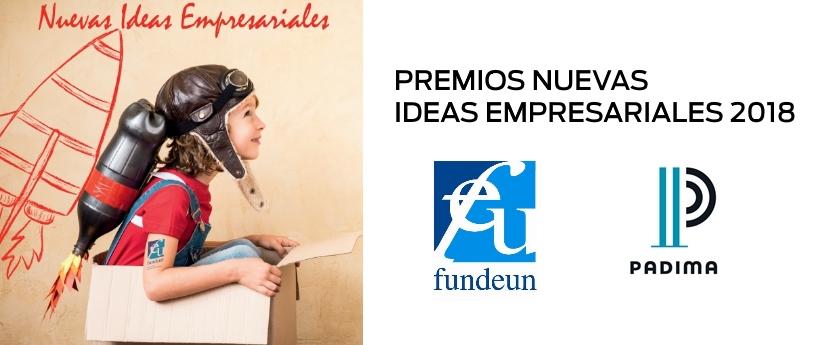 PADIMA colabora en PREMIOS NUEVAS IDEAS EMPRESARIALES 2018