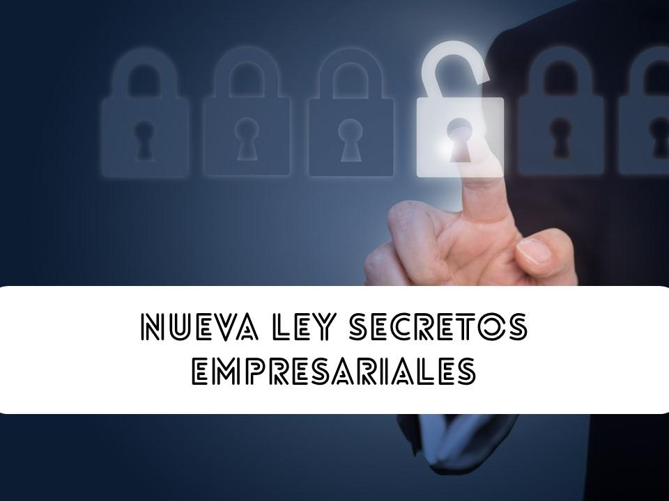 Nueva Ley Secretos Empresariales