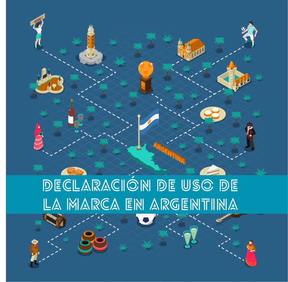 Declaración de uso de la marca en Argentina